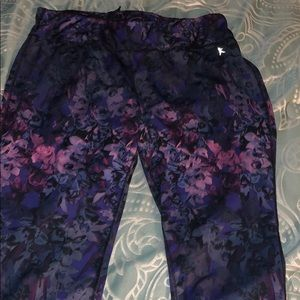 Gym workout leggings capri